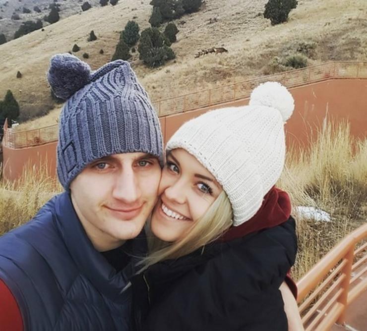 Nikola Jokić i Natalija Mačešić