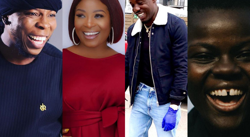 7 Ghanaian celebrities who are helping gov't fight coronavirus
