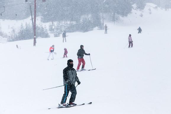 Ski-centar Brezovica ovih dana