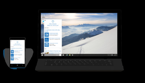 Cortana w Windows 10