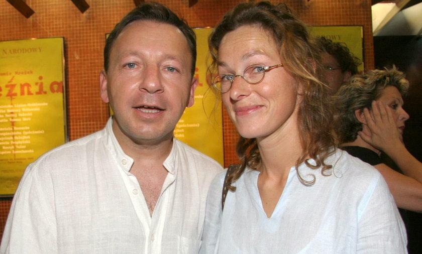 Zbigniew Zamachowski i Aleksandra Justa