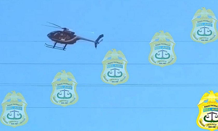 Spadł policyjny helikopter