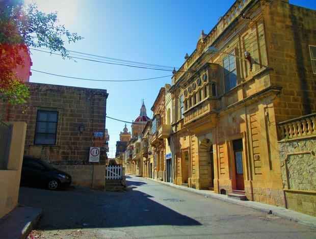 Uliczka w Żebbuġ
