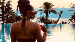 A private getaway is helpful in so many ways (Instagram/Toke Makinwa)
