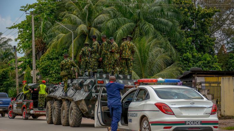Nigeryjskie siły bezpieczeństwa