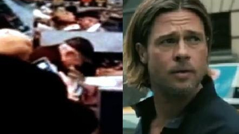 "Brad Pitt, ""Walka o karpia"""