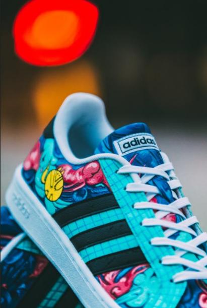 rozmiar 7 przed Sprzedaż nowe niższe ceny Praca Lisa Kuli zostanie przeniesiona na buty adidas w ...