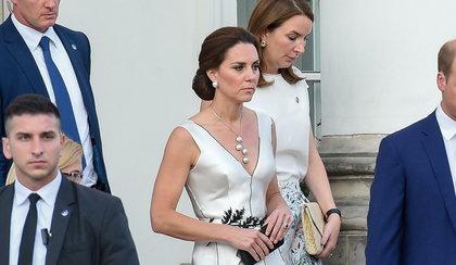 Książę William z piękną żoną w Warszawie