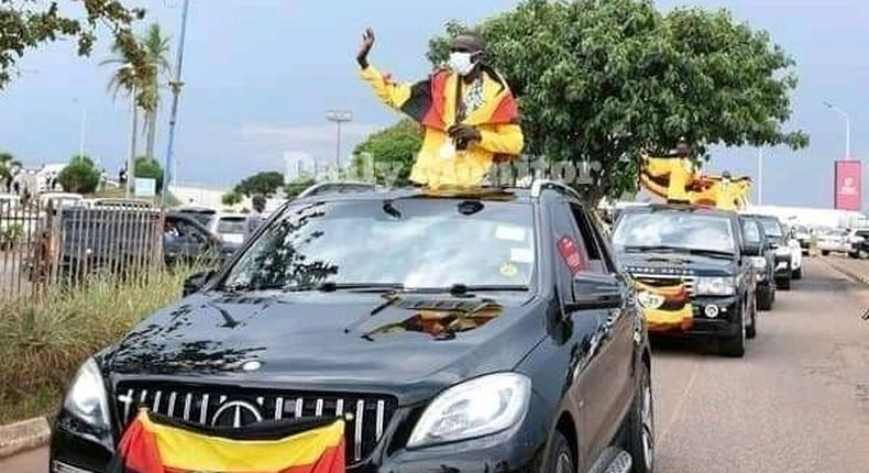 Ugandan athletes received like heroes after returning from Toyko Olympics