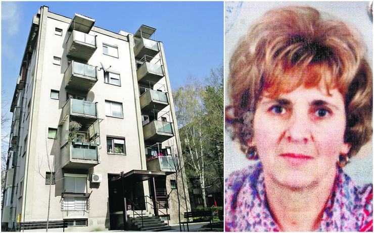 Zgrada u Paraćinu u kojoj se dogodio zločin / Ljiljana bila profesorka u penziji
