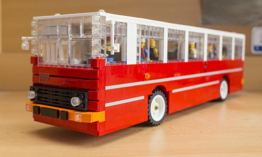 Autobus z lego