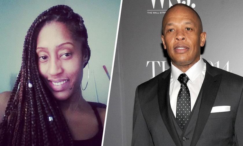 Dr. Dre i jego córka LaTanya Young