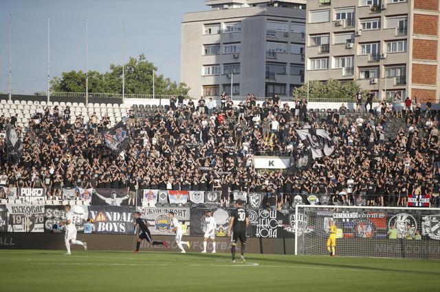 Detalj sa meča FK Partizan - Čukarički