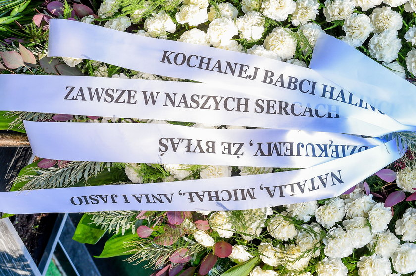 Pogrzeb Haliny Szmeterling
