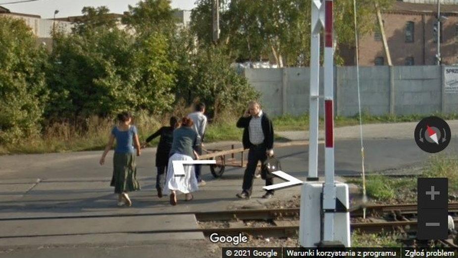 Przestępstwo na Google Maps? Niecodzienne zdjęcie z Krosna