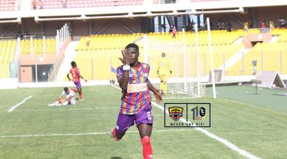Hearts of Oak secure first-leg advantage after beating WAC in CAF Champions League