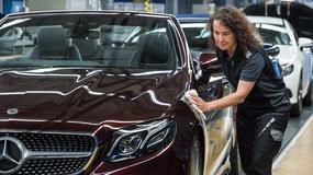 Mercedes-Benz klasy E Cabriolet już wyjechał z fabryki w Bremie