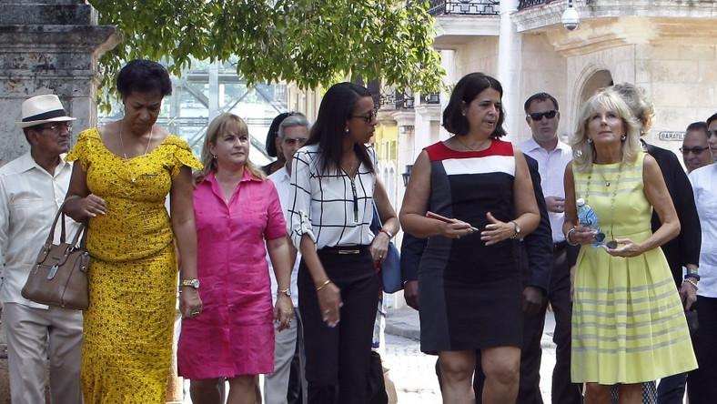 Małżonka wiceprezydenta Stanów Zjednoczonych przebywa właśnie z wizytą na Kubie...