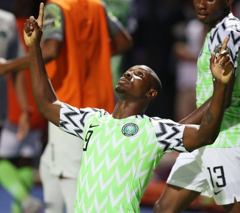 Odion Ighalo could finish as the highest goalscorer in AFCON 2019 with five goals (CAF)
