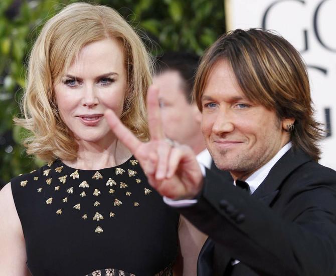 Nikol i njen muž Kit Urban.
