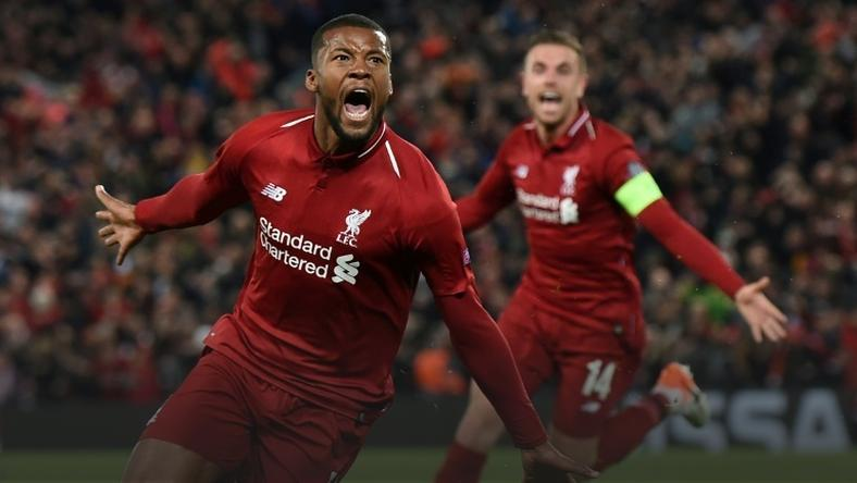 Georginio Wijnaldum says Liverpool have added motivation in the Champions League final