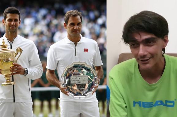 """""""DA ME HEROIN NIJE UNIŠTIO BIO BIH DRUGI NOVAK"""" Surova životna priča najveće srpske teniske nade! Pobedio Federera, a čak je i Srđan Đoković priznao da je najtalentovaniji"""
