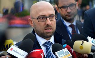Sasin: Nie ma absolutnie żadnego ultimatum PiS ws. dymisji Łapińskiego