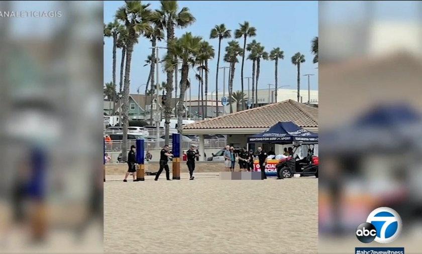 Policja z Kalifornii zabiła uzbrojonego mężczyznę.