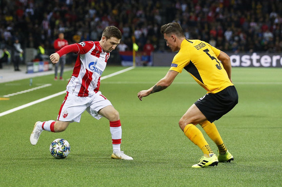 Marko Marin na utakmici Jang Bojs - FK Crvena zvezda