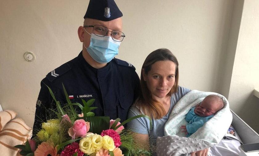 Dramat przed szpitalem w Kozienicach. Kobieta wzywała pomocy. Rodziła