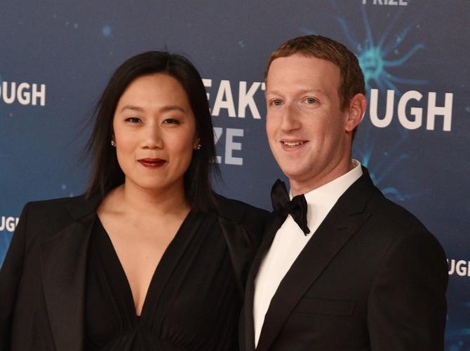 Mark Zaberkerg i Prisila Čan