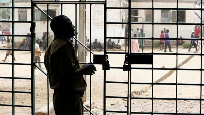 Illustrative photo of a prison gate (NigerianNews)