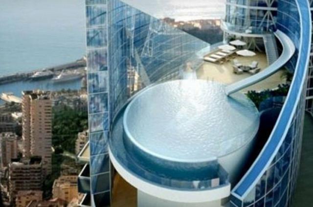 Posle napornog dana, multimilioner će moći da se bućne u bazen pravo sa balkona