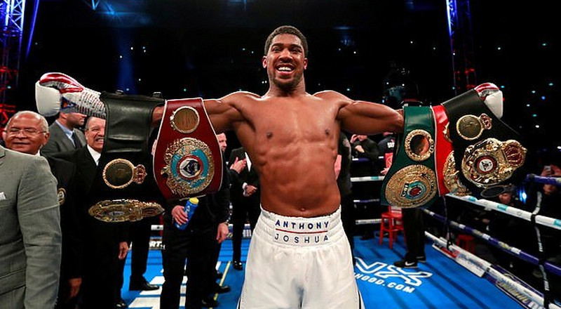 Tickets for Anthony Joshua's next fight are selling out fast