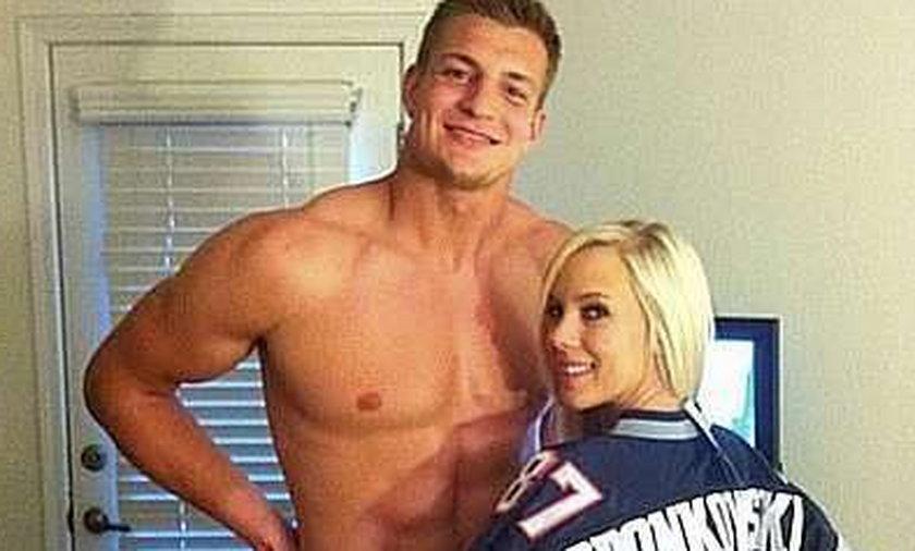 Polak z NFL spotyka się z gwiazdą porno
