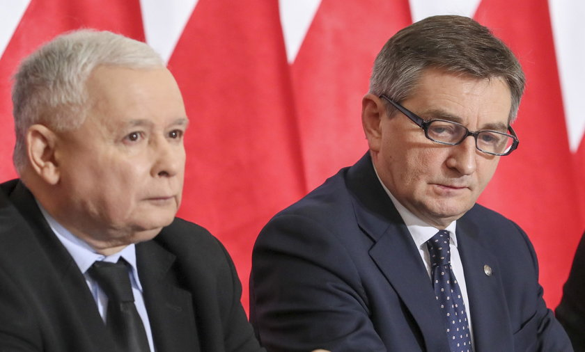 Jarosław Kaczyński, Marek Kuchciński