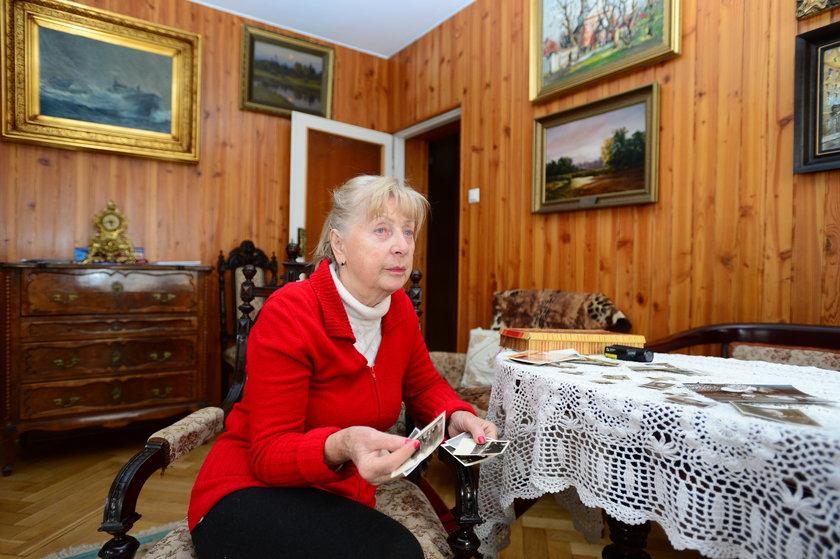 Maria Kiszczak w swojej willi