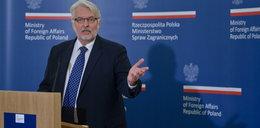 Waszczykowski przesadził. Polski ambasador musi się tłumaczyć