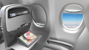 Wkrótce będziesz mógł naładować swój telefon w samolocie za pomocą... okien