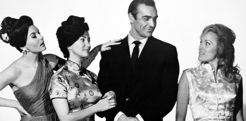 Wszystkie kobiety Bonda. Te piękności zagrały u boku Connery'ego