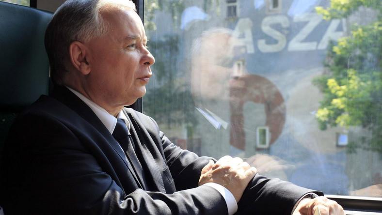 Jarosław Kaczyński o swej kampanii
