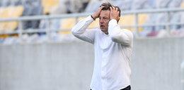 Piłkarze Pogoni z troską o trenerze. Bali się, że zejdzie na zawał