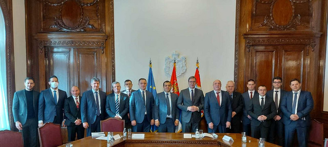 BSS u poseti Aleksandru Vučiću