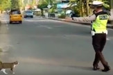 Saobraćajni policajac mačka prtscn youtube