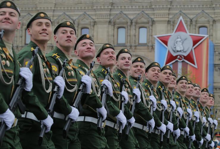 dan pobede, vojna parada u moskvi