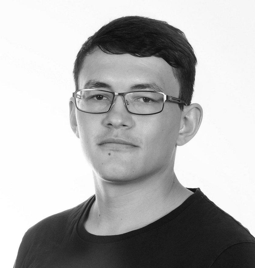 Dziennikarz słowacki Jan Kuciak