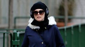 Julianne Moore chroni się przed zimnem. Wygląda jak Eskimos!