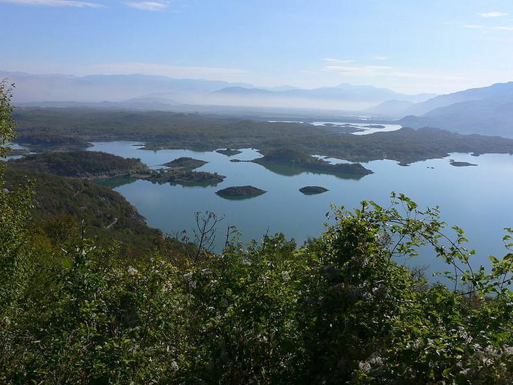Slano jezero Nikšić Crna Gora Wikipedia