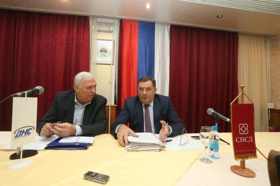 Marko Pavić i Milorad Dodik