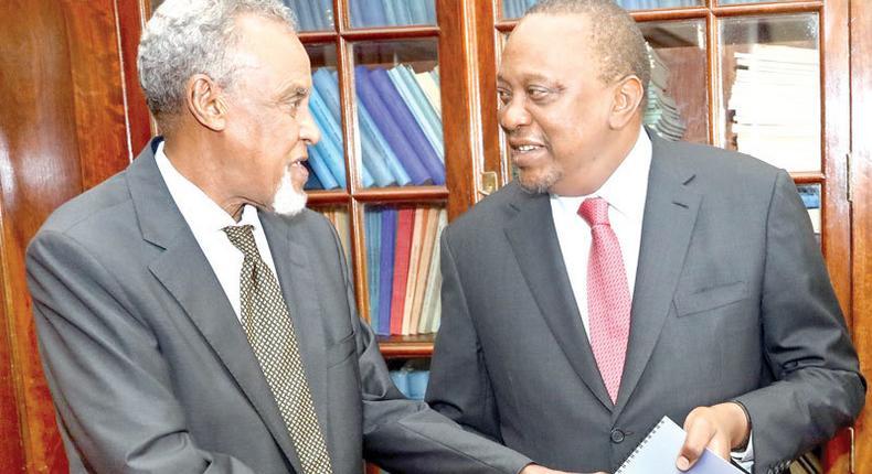 Hope for Aden Duale as respected elder Yusuf Haji personally pleads for his retention as Majority Leader